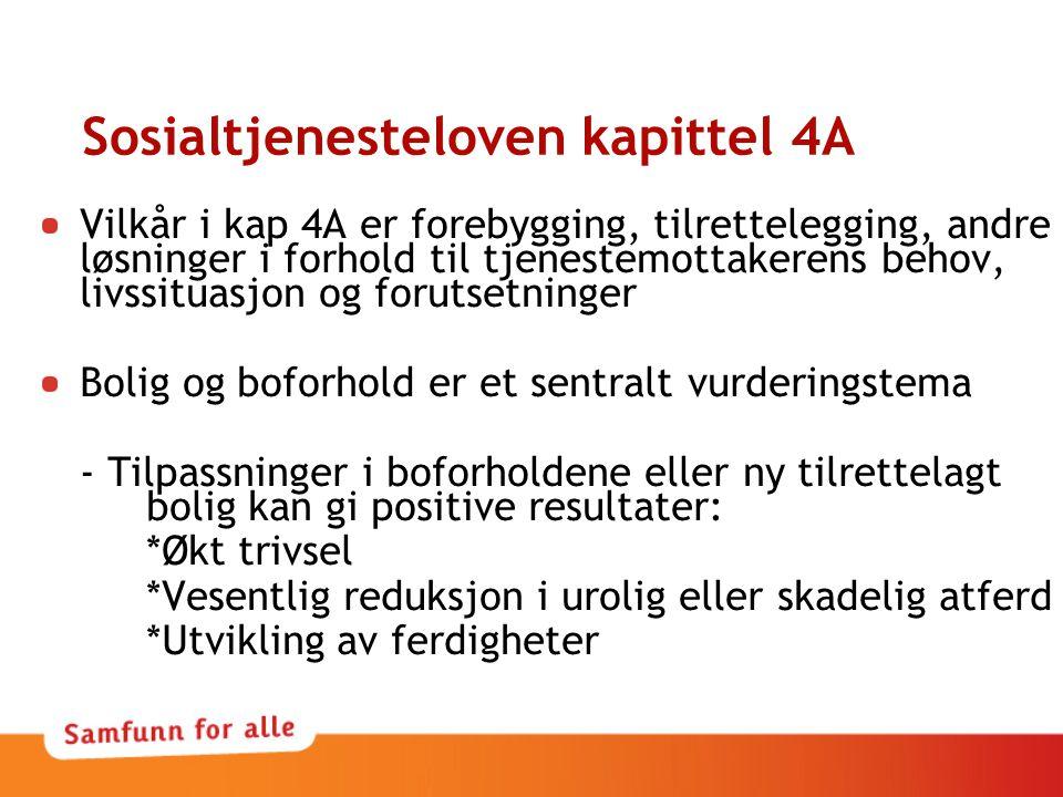 Sosialtjenesteloven kapittel 4A