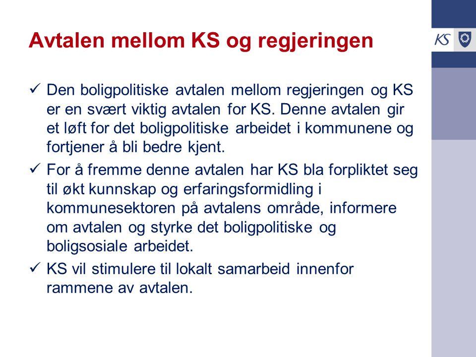 Avtalen mellom KS og regjeringen