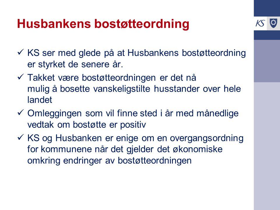 Husbankens bostøtteordning