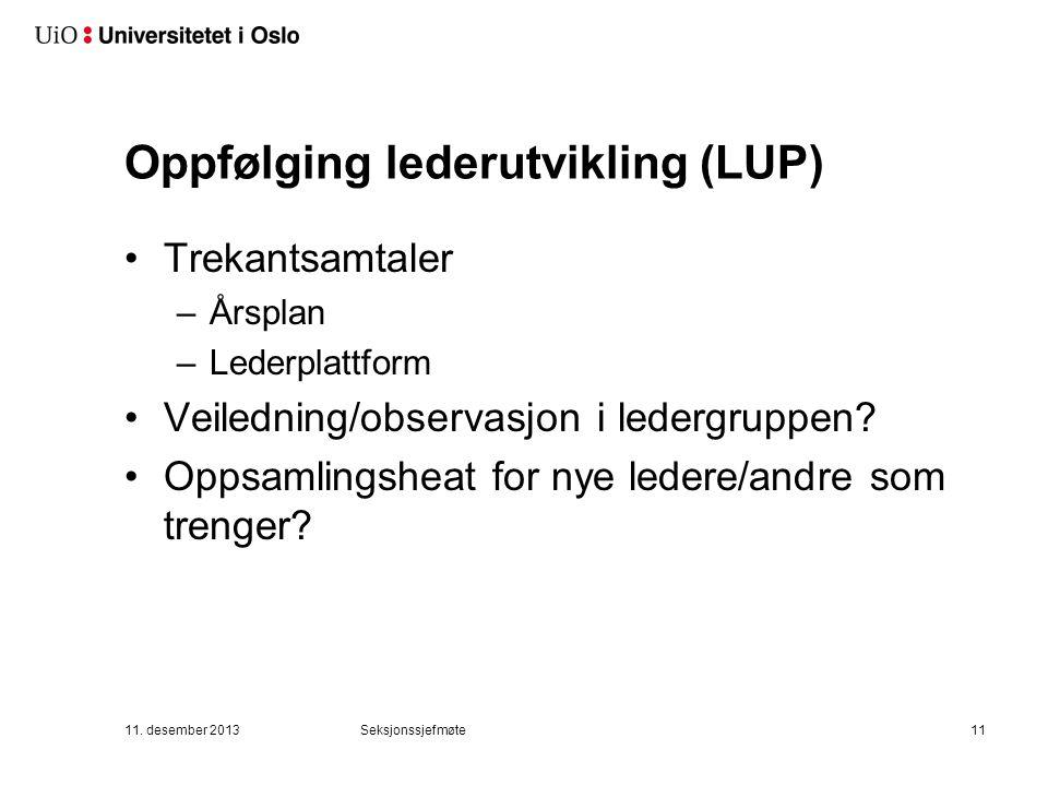 Ny sjefer-samling 3. og 4. april Lysebu Innhold under utarbeidelse