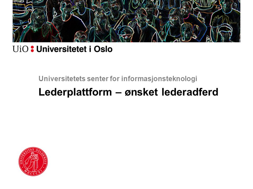Universitetets senter for informasjonsteknologi
