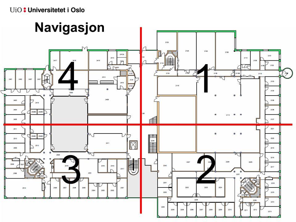 Navigasjon 4 1 3 2 USIT, Universitetets Senter for InformasjonsTeknologi