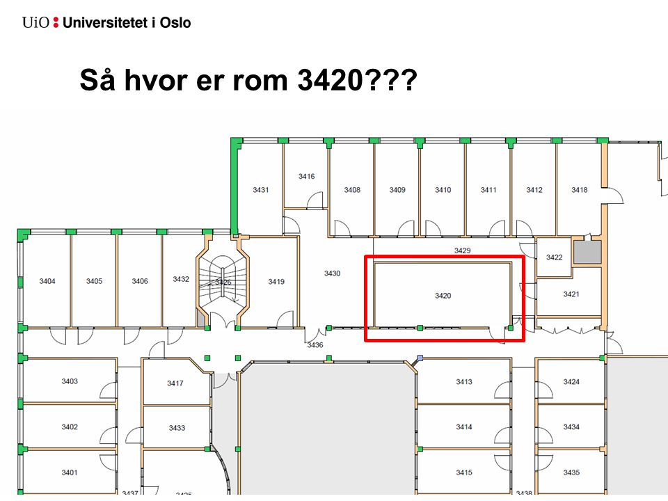 Så hvor er rom 3420