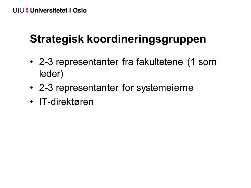 Strategisk koordineringsgruppen