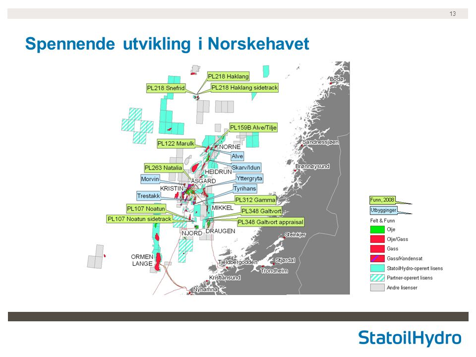 Spennende utvikling i Norskehavet