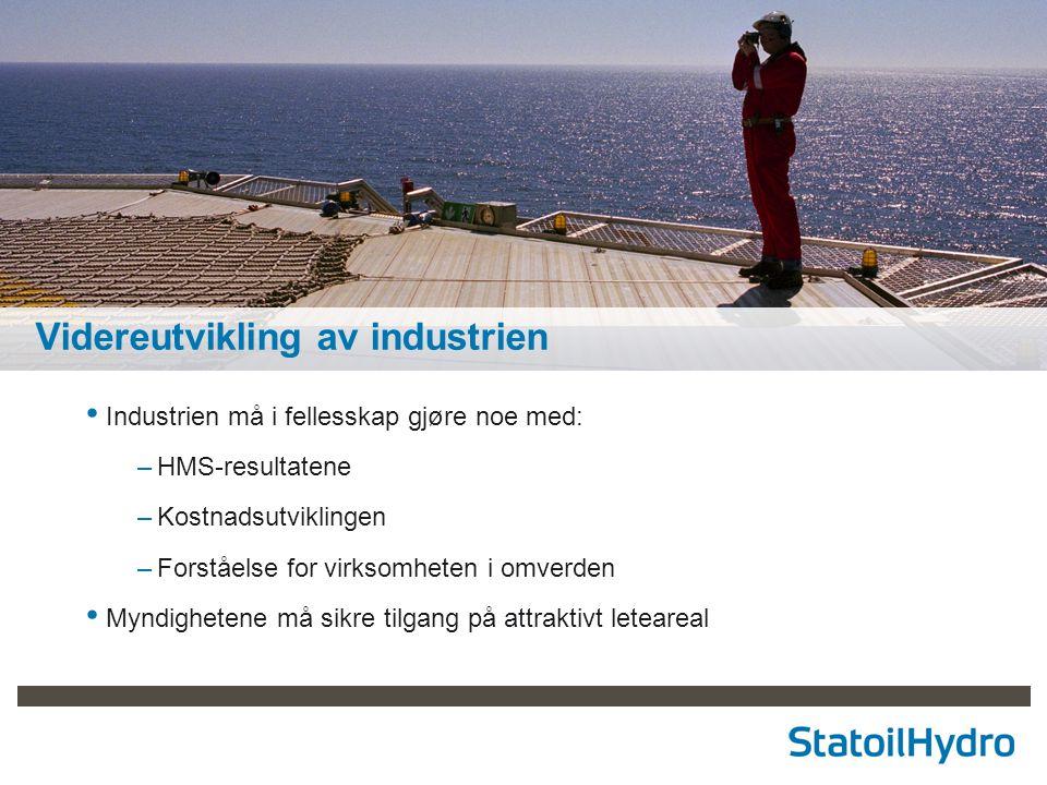Videreutvikling av industrien