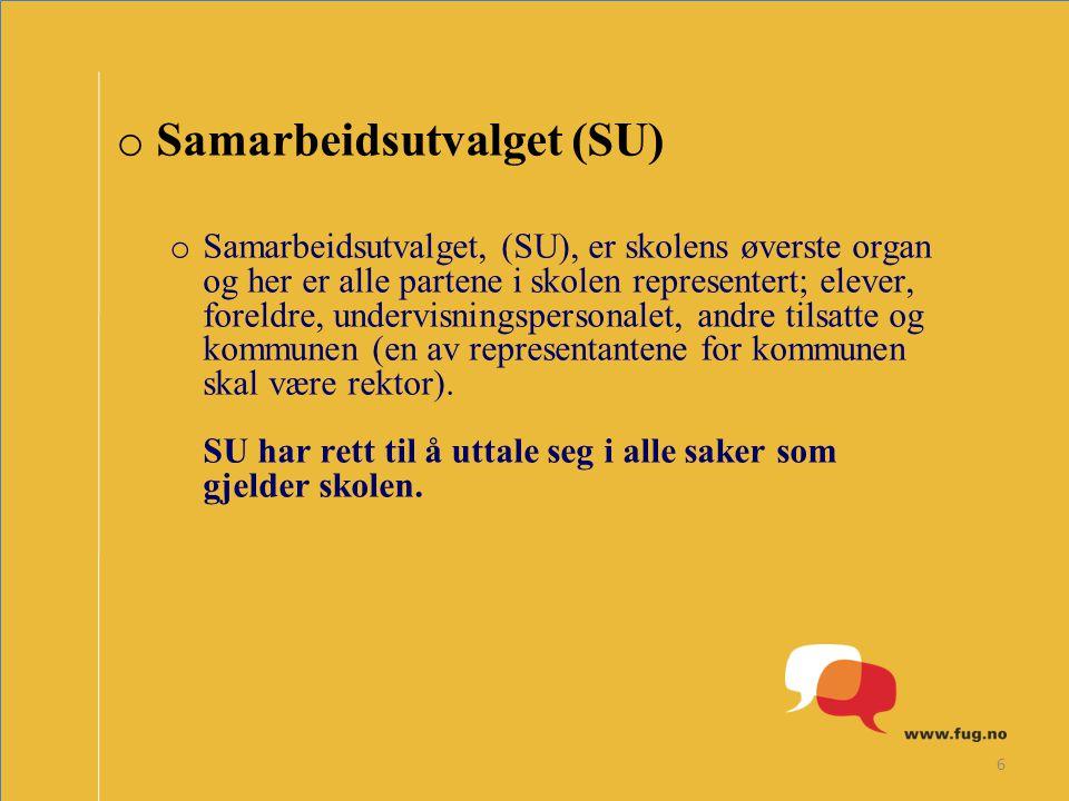 Samarbeidsutvalget (SU)