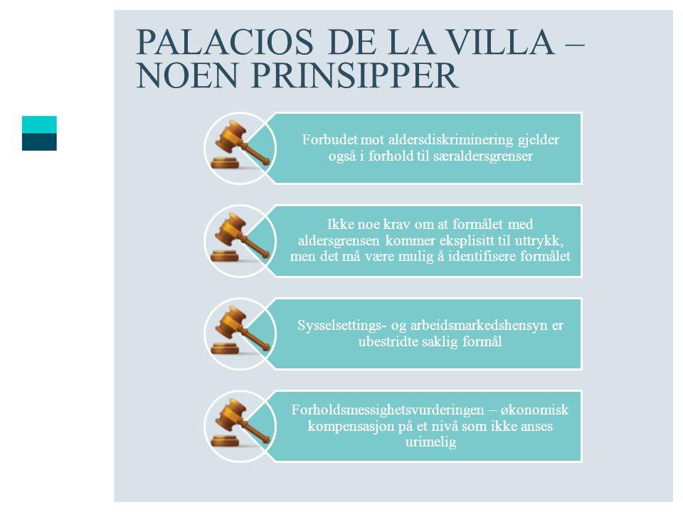 PALACIOS DE LA VILLA – NOEN PRINSIPPER