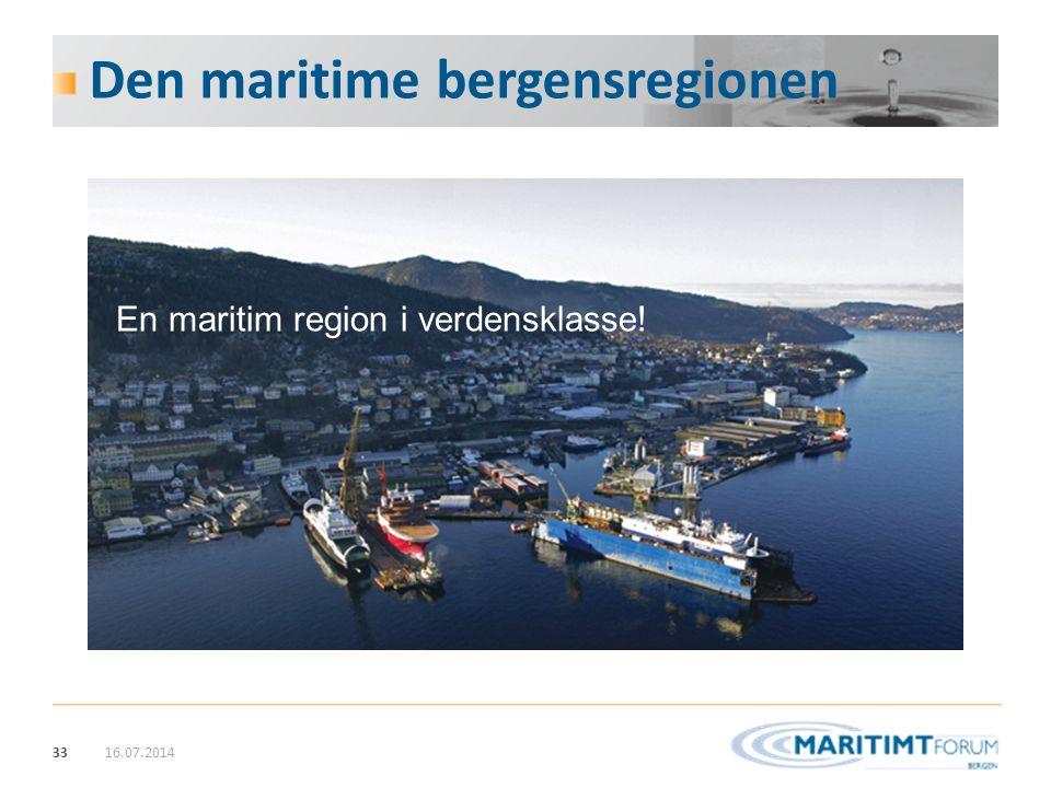 Den maritime bergensregionen