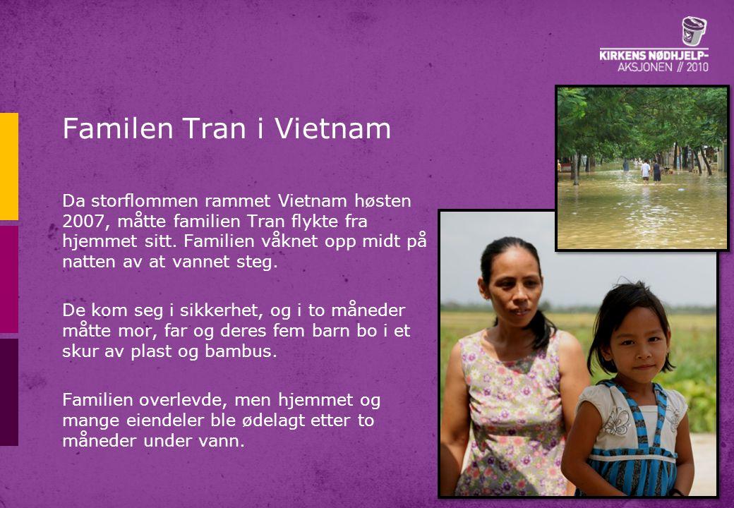 Familen Tran i Vietnam
