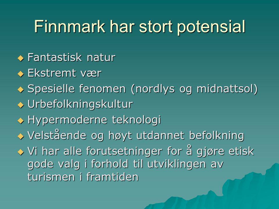 Finnmark har stort potensial
