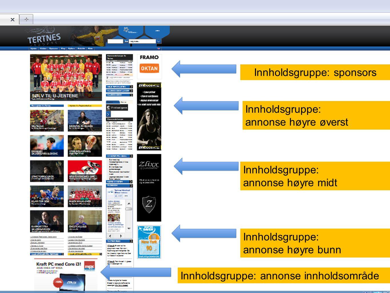 Innholdsgruppe: sponsors