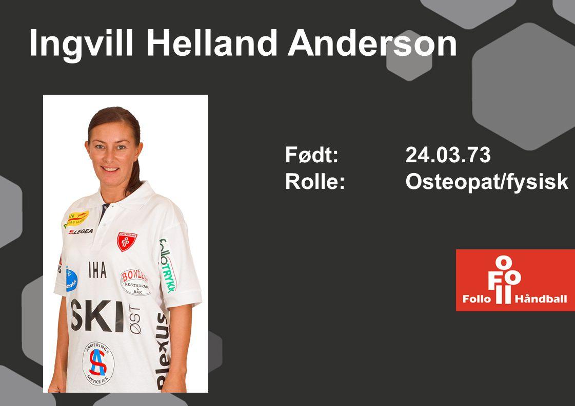 Ingvill Helland Anderson