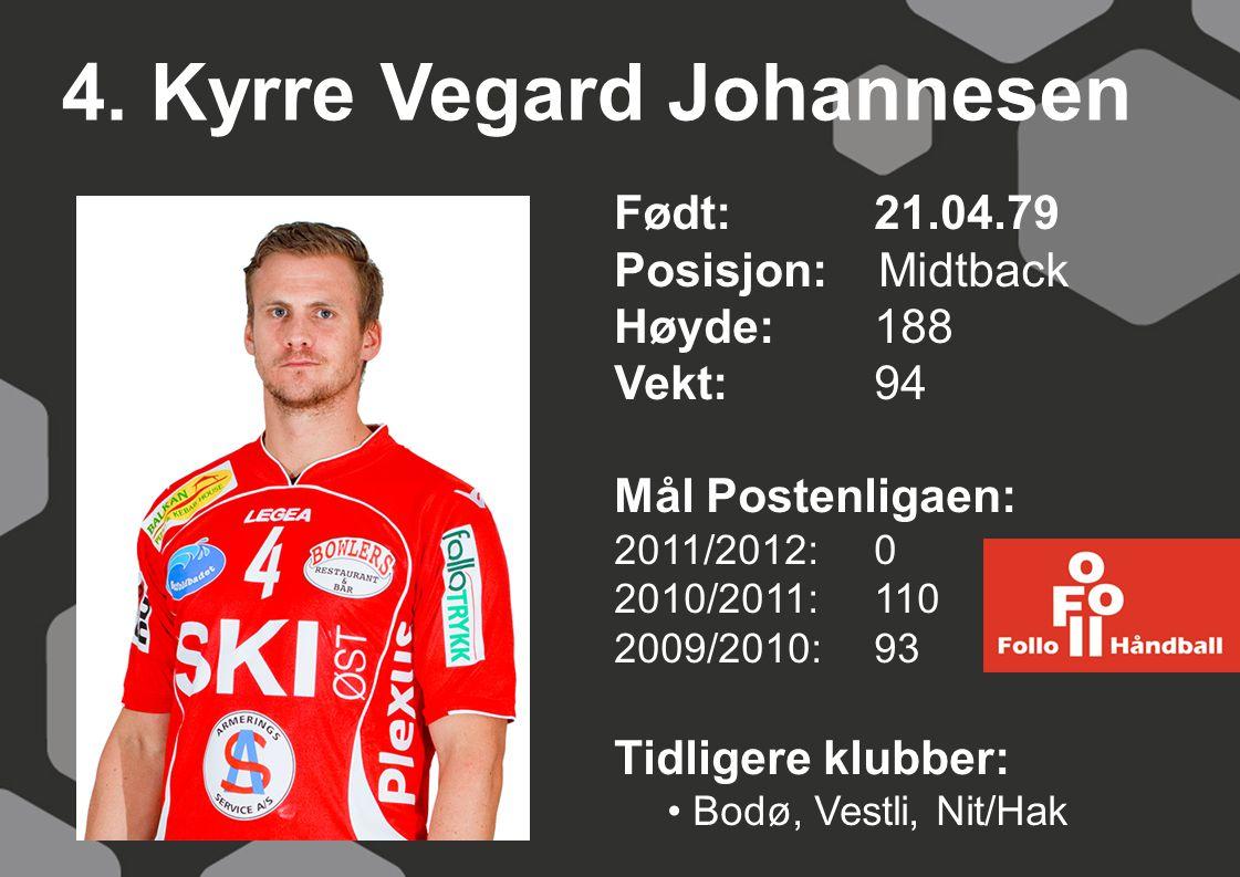 4. Kyrre Vegard Johannesen