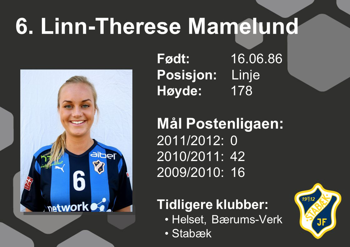 6. Linn-Therese Mamelund
