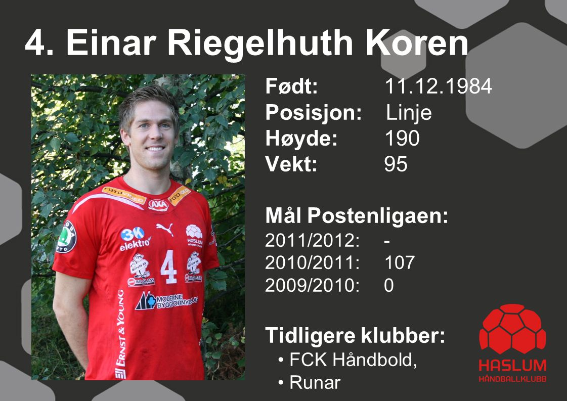 4. Einar Riegelhuth Koren