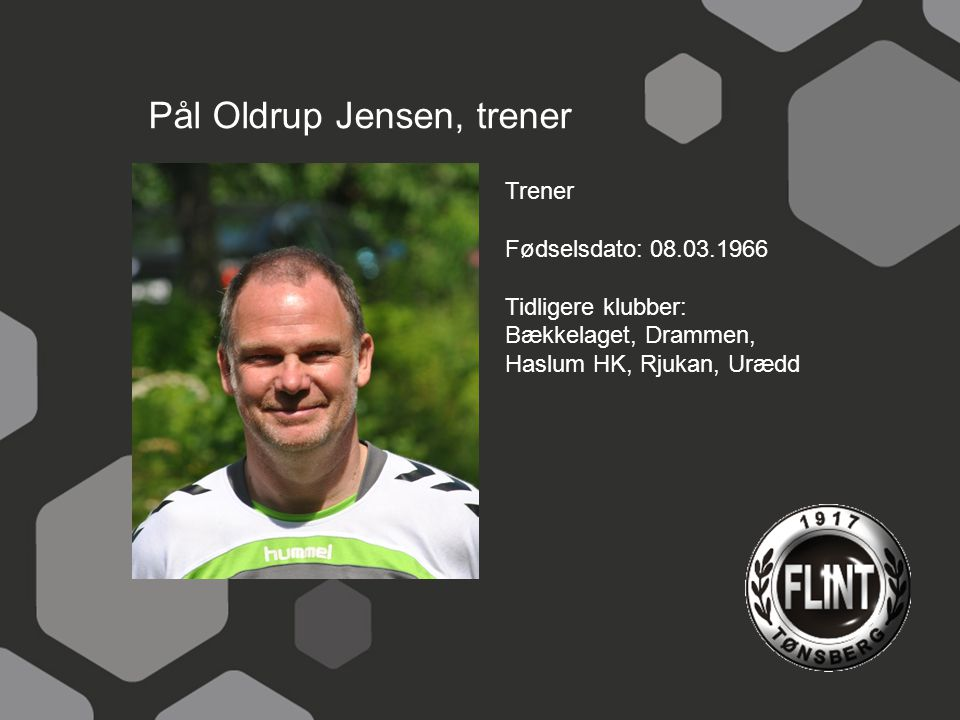 Pål Oldrup Jensen, trener