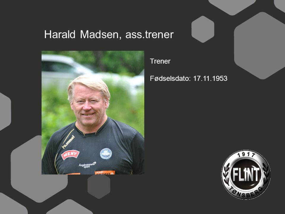 Harald Madsen, ass.trener