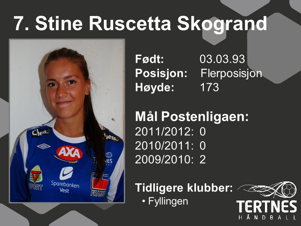 7. Stine Ruscetta Skogrand