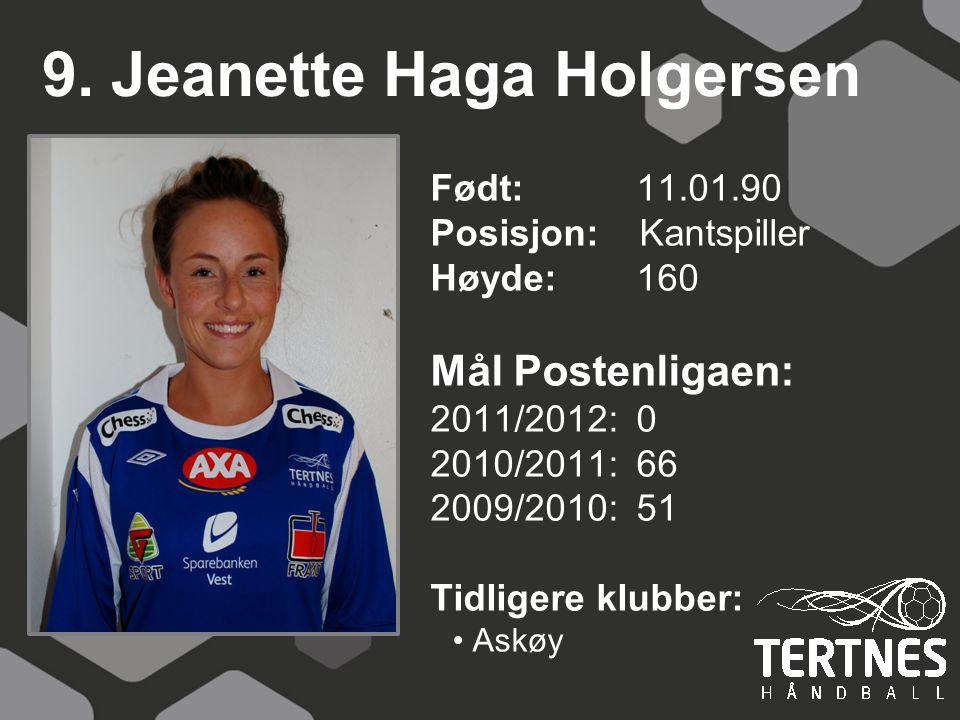 9. Jeanette Haga Holgersen