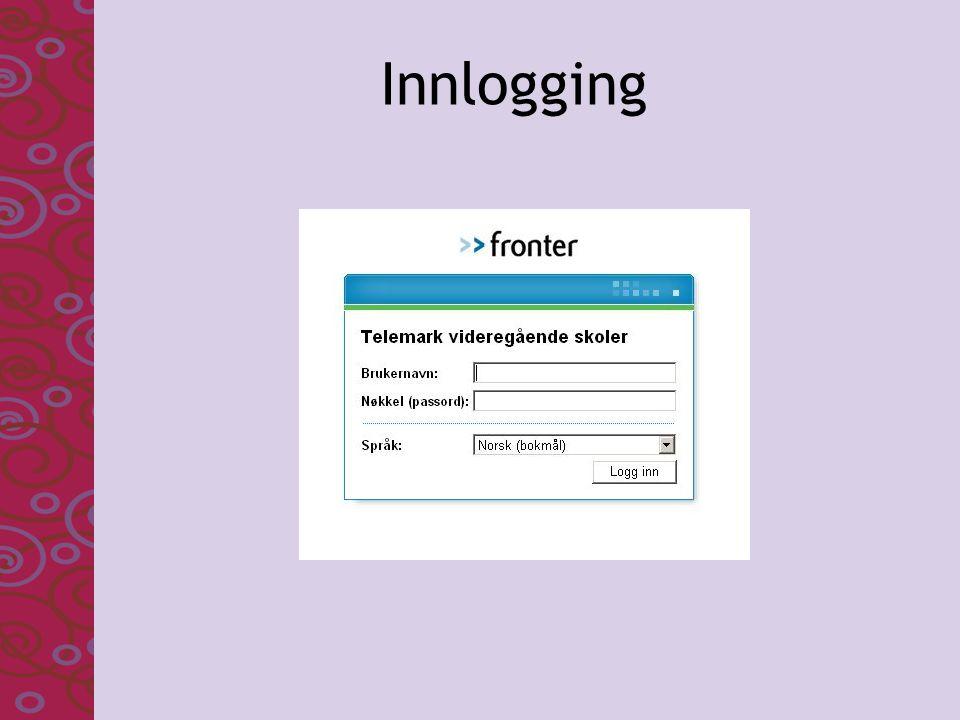 Innlogging