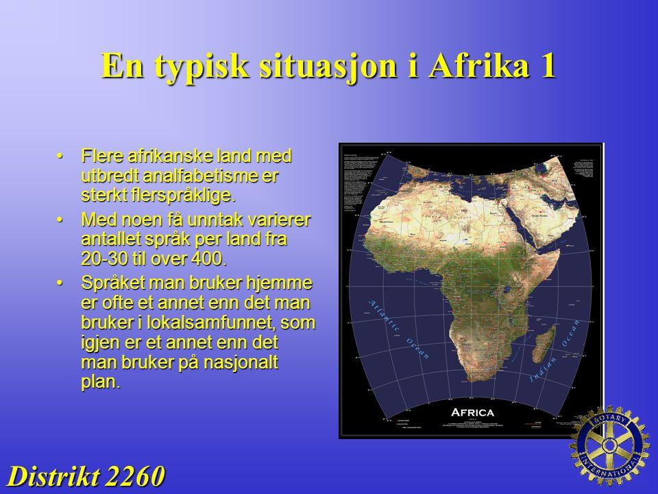 En typisk situasjon i Afrika 1