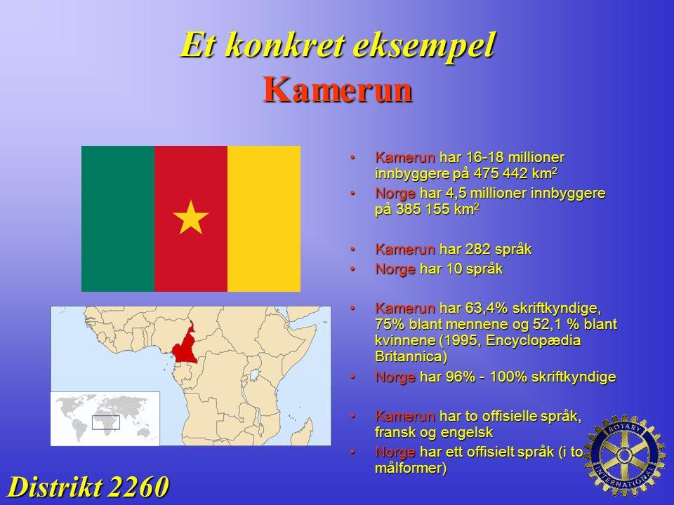 Et konkret eksempel Kamerun
