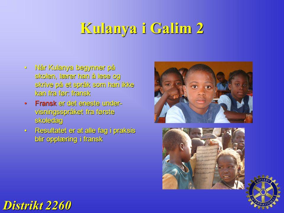 Kulanya i Galim 2 Distrikt 2260