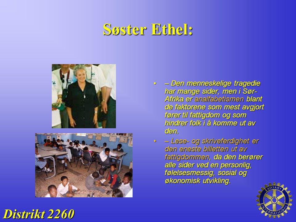 Søster Ethel: Distrikt 2260