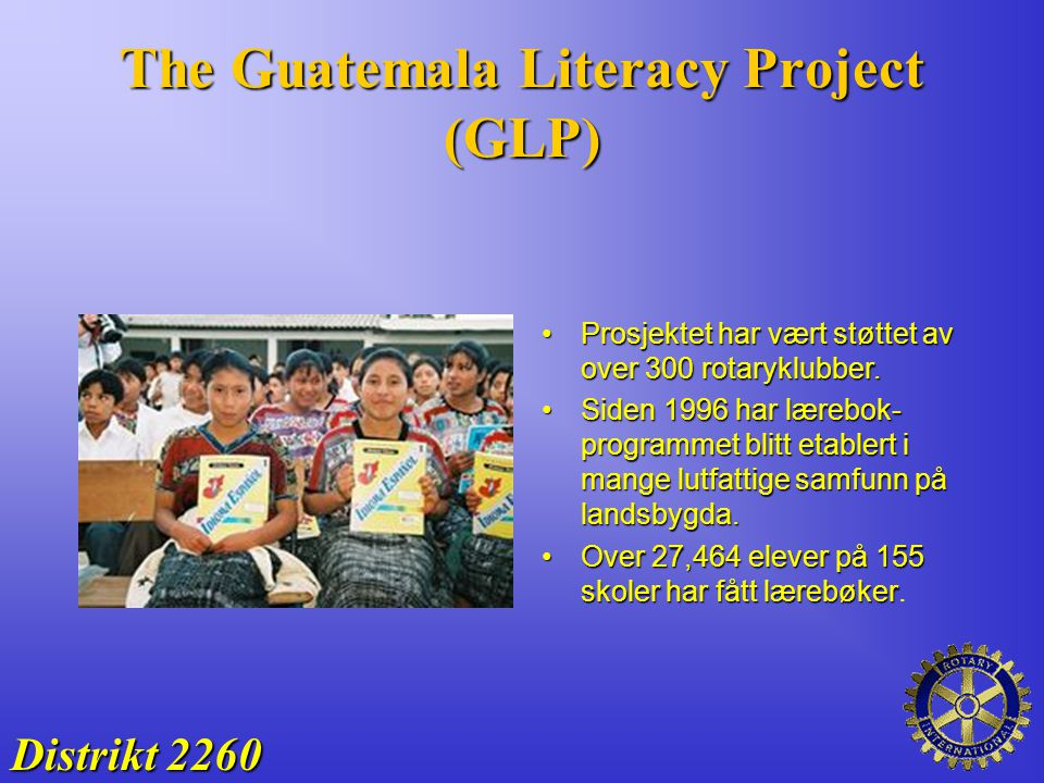 The Guatemala Literacy Project (GLP)