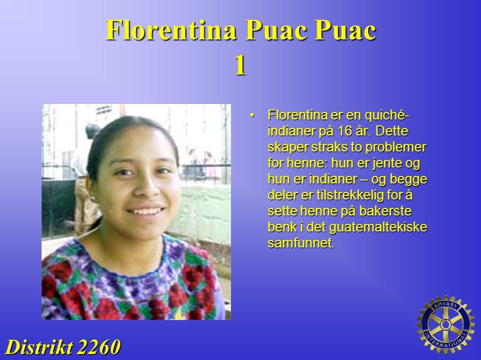 Florentina Puac Puac 1 Distrikt 2260