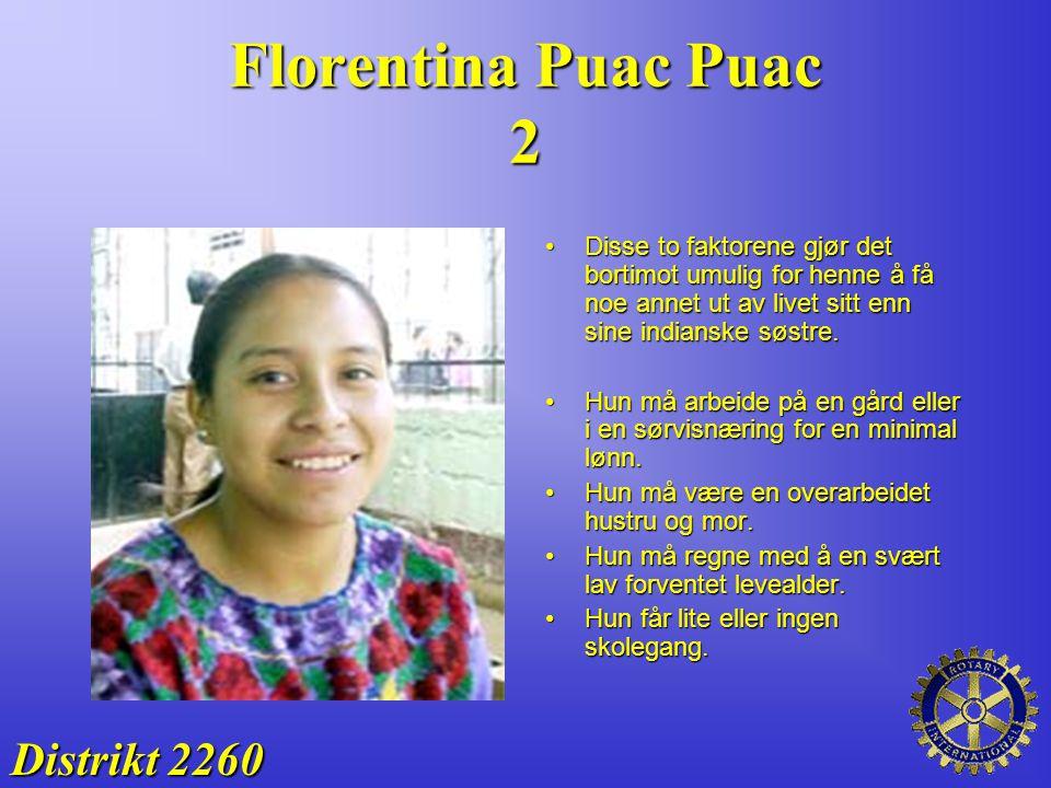 Florentina Puac Puac 2 Distrikt 2260