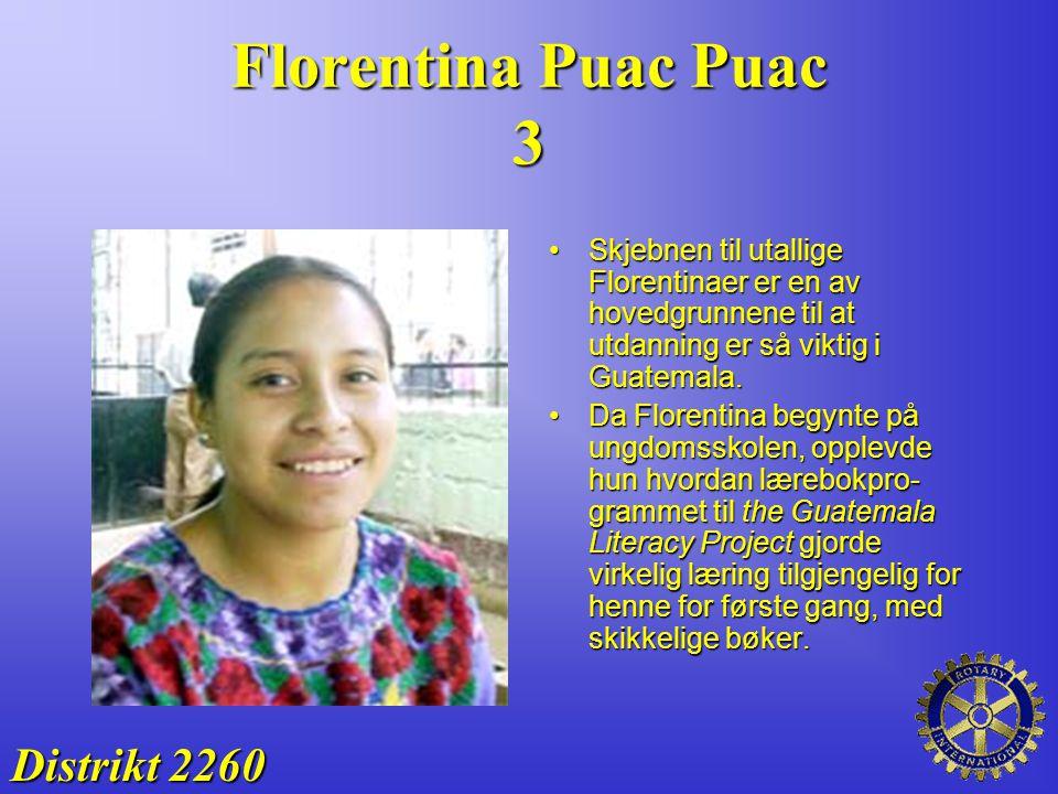 Florentina Puac Puac 3 Distrikt 2260