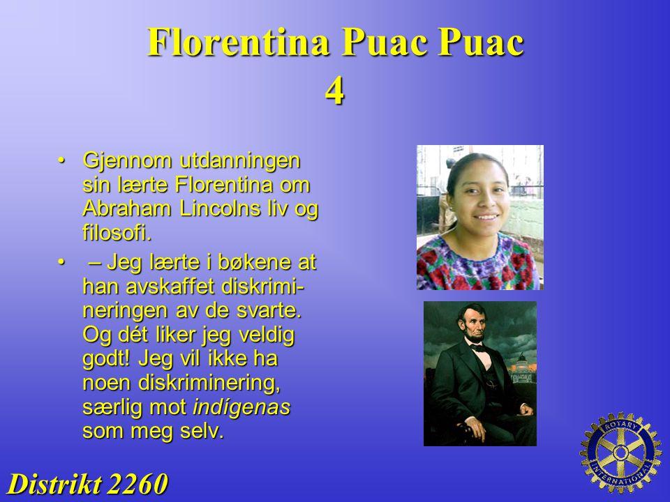 Florentina Puac Puac 4 Distrikt 2260