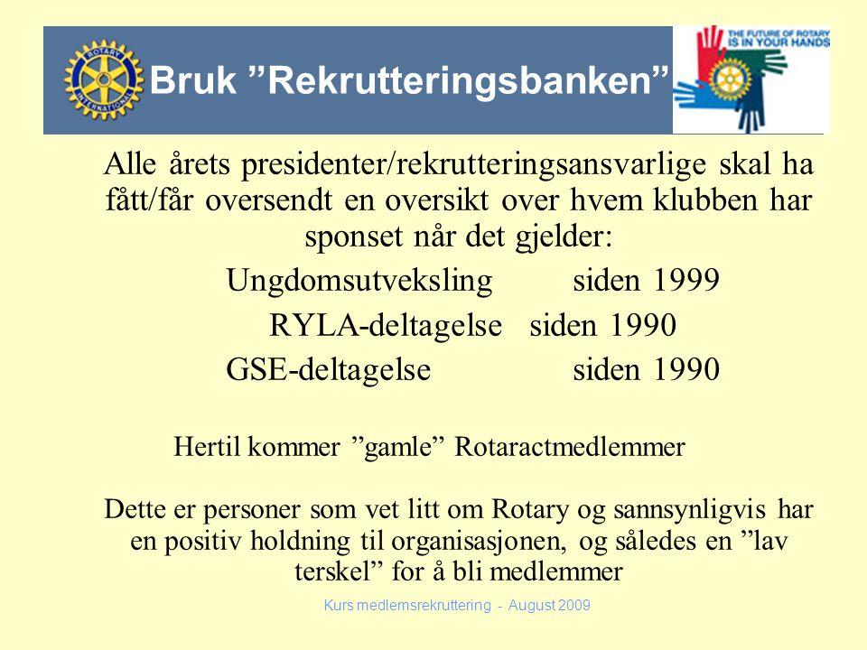 Bruk Rekrutteringsbanken
