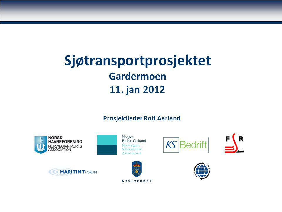 Sjøtransportprosjektet Gardermoen 11. jan 2012