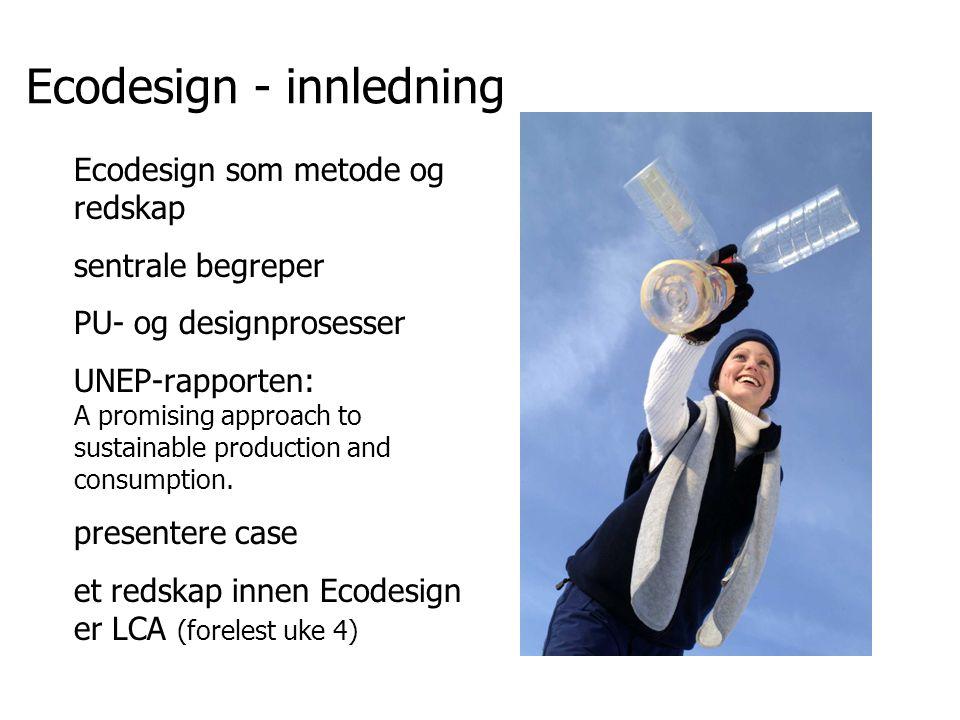 Ecodesign - innledning