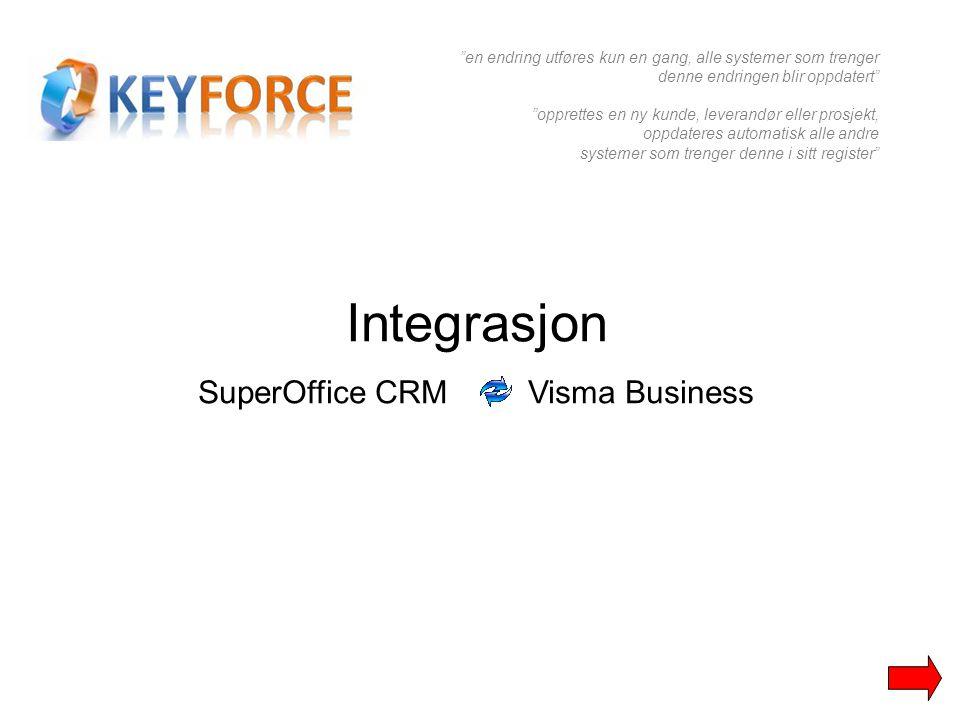 SuperOffice CRM Visma Business