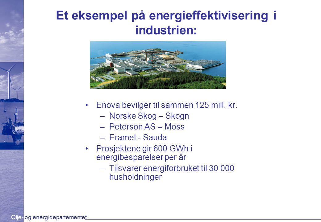 Et eksempel på energieffektivisering i industrien:
