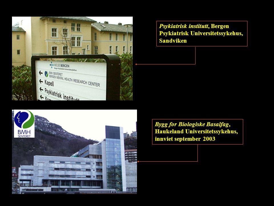 Psykiatrisk institutt, Bergen Psykiatrisk Universitetssykehus, Sandviken