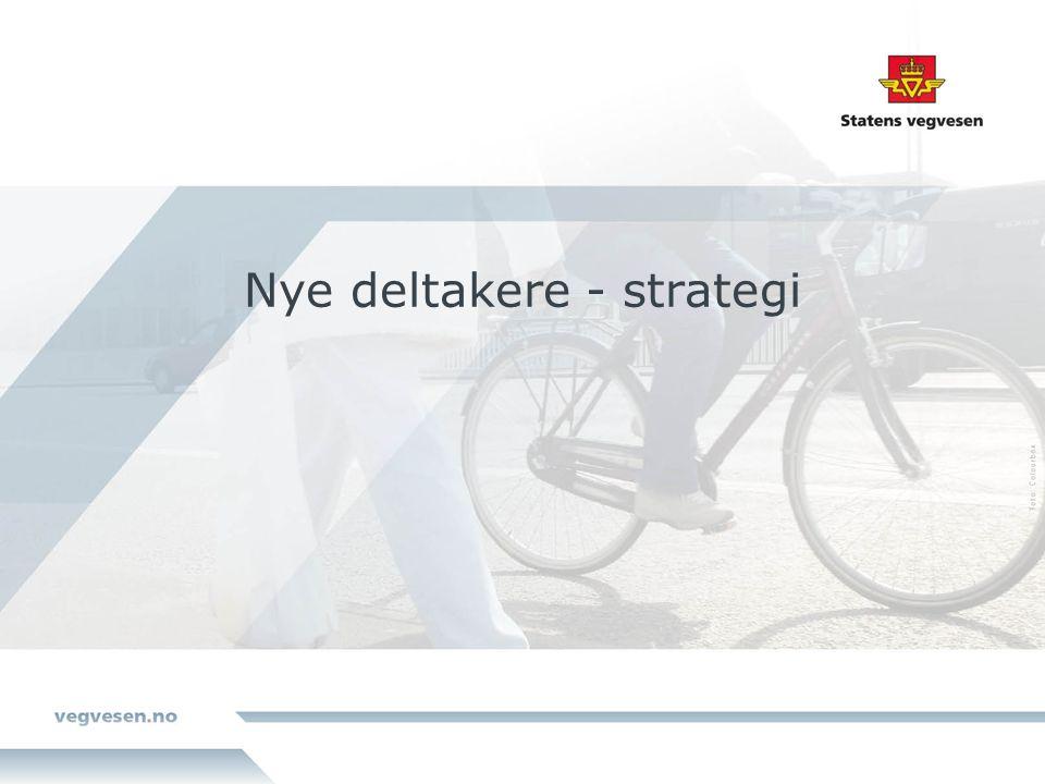 Nye deltakere - strategi