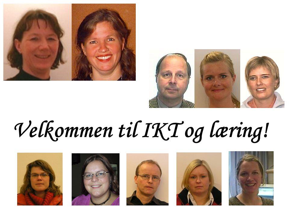 Velkommen til IKT og læring!