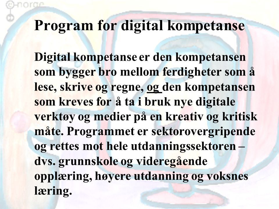 Program for digital kompetanse