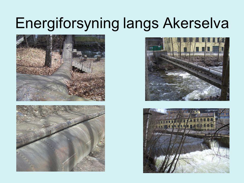 Energiforsyning langs Akerselva