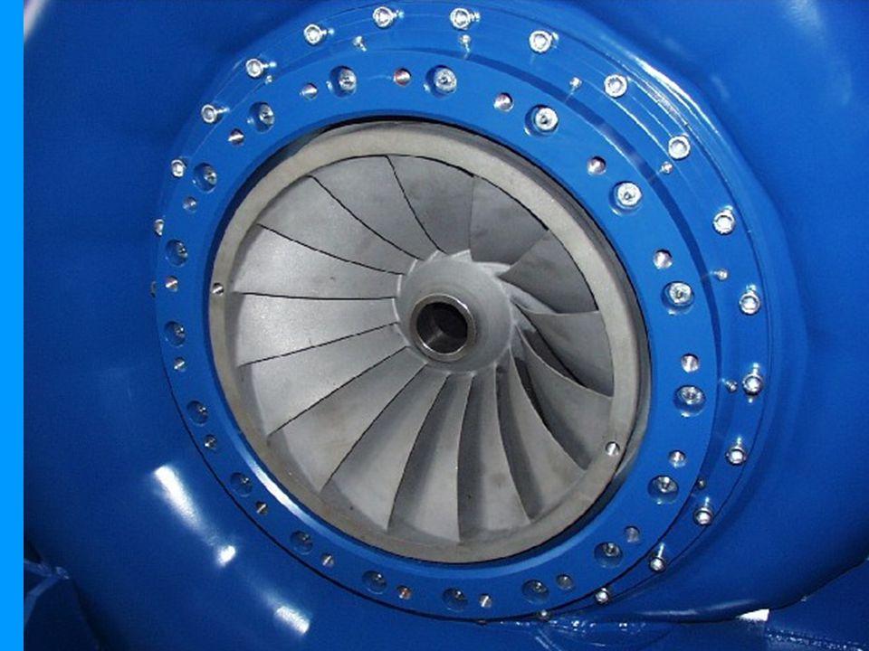Løpehjul fra turbin.