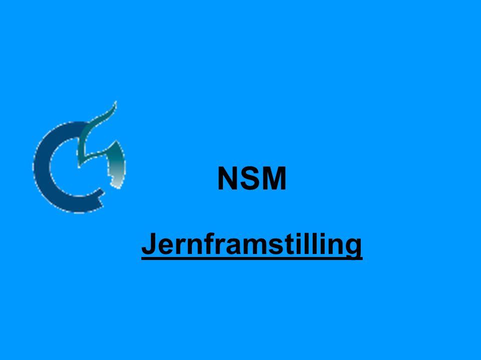 NSM Jernframstilling