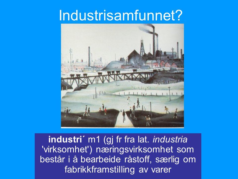 Industrisamfunnet