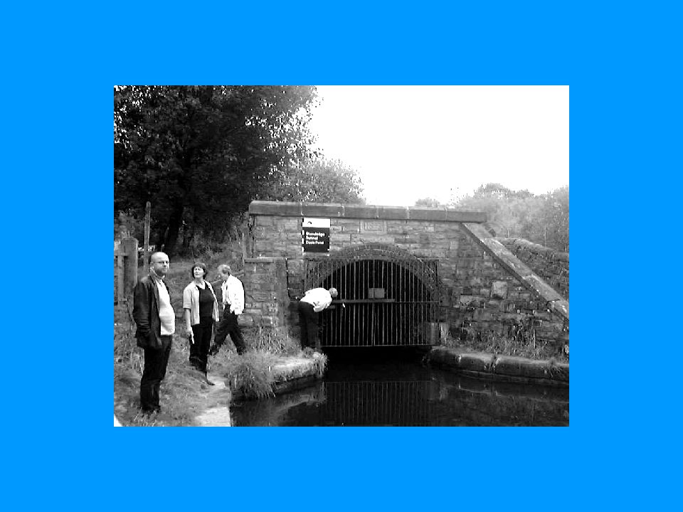 Port til en 4,5 km lang tunnell gjennom The Pennines!