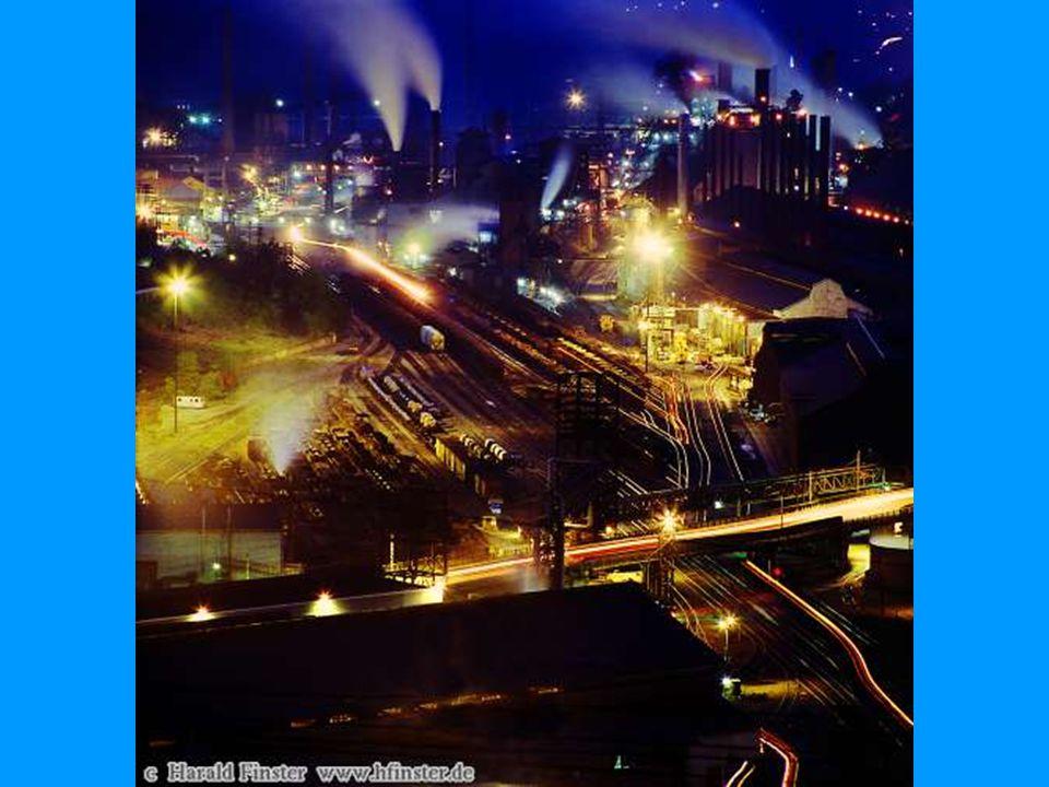 Amerikansk stålverk av i dag.