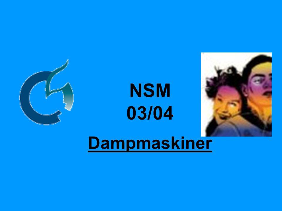 NSM 03/04 Dampmaskiner